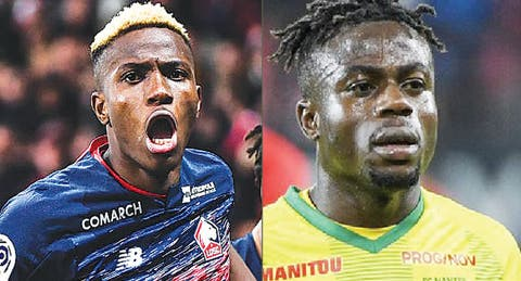 Osimhen Picks French Ligue 1's Best African Award Ahead Of Moses Simon