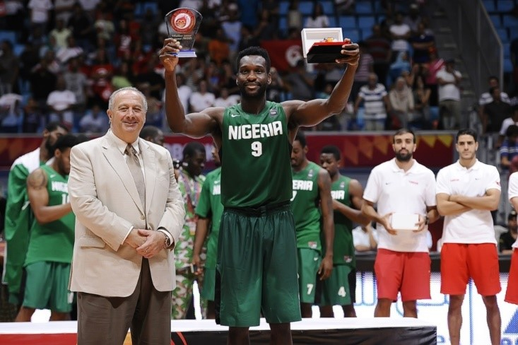Chamberlain Gains Plaudits After Emerging Nigeria's Best In Basketball