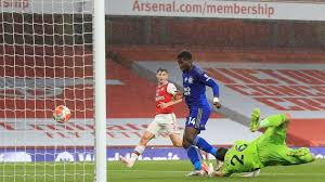 Iheanacho's Goal Against Arsenal Should Have Been Allowed – Heskey