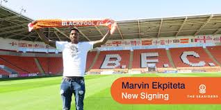 Marvin Ekpiteta Receives Very Warm Welcome On His Arrival At Blackpool
