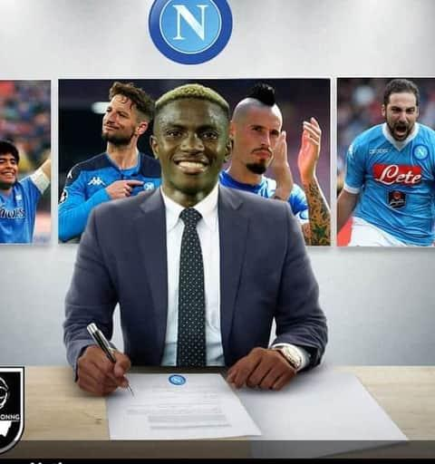 Victor Osimhen's Former Agent Plans Court Action Over Lad's Napoli Deal