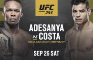Israel Adesanya To Defend His UFC Title Against Brazil's Paulo Costa