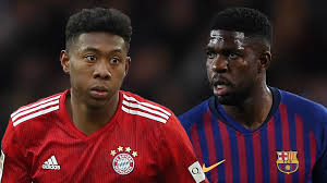 Alaba In Umtiti Swap Arrangement For Likely Summer Transfer To Barcelona