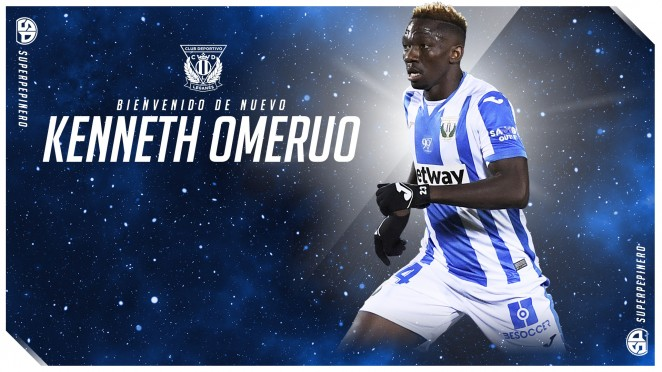 Kenneth Omeruo Could Head Back To Turkey After Leaving Leganes