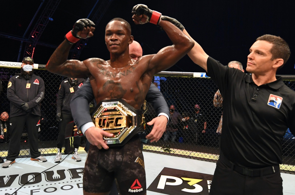 Israel Adesanya Pulls Off Yet Another Successful Title Defence In UFC