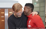 Taiwo Awoniyi Gets Technical Tips From Jurgen Klopp At Liverpool