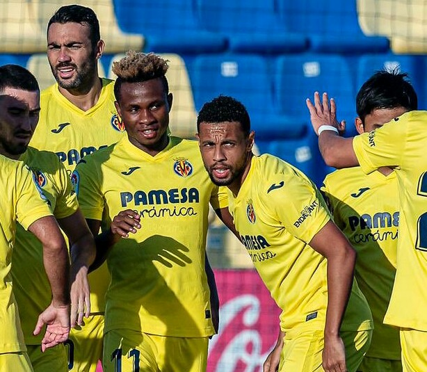 Chukwueze Receives Gratitude From Francis Coquelin After Providing Assist