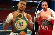 Anthony Joshua Insists He Remains Fully Focused On Kubrat Pulev Fight