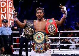 Joshua Likely To Tango Pulev Inside Empty Arena Because Of Covid-19