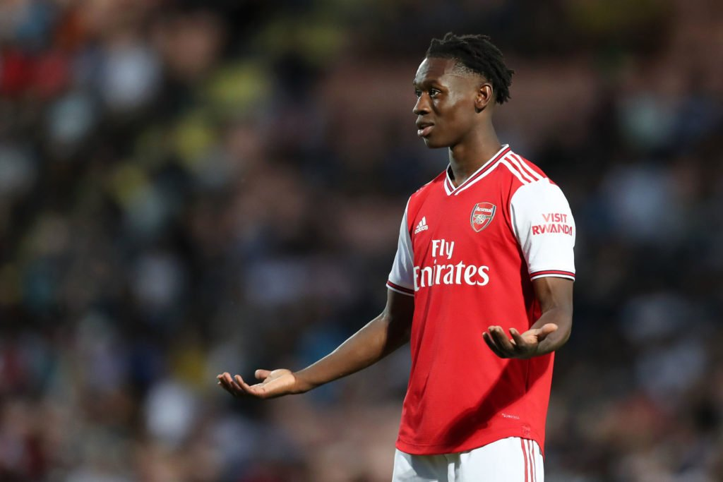 Folarin Balogun Receives First Career Red Card In Arsenal Victory