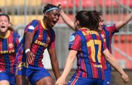 Oshoala Relishes Her Goal Against Manchester City In Women's UCL