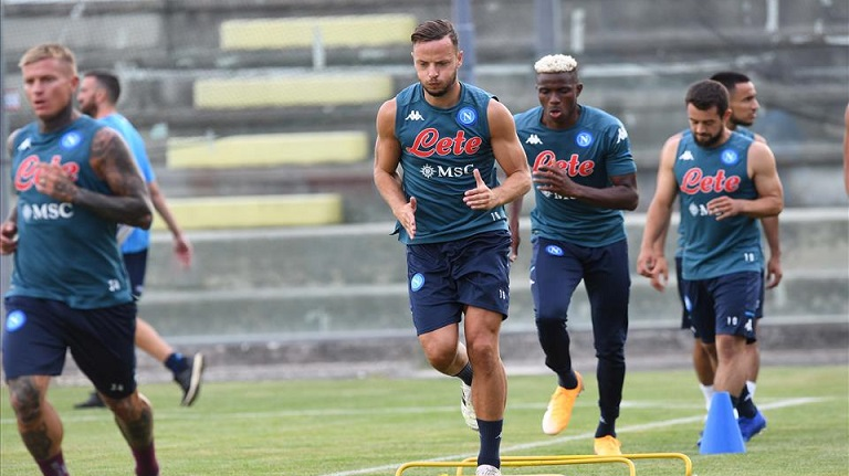 Victor Osimhen In Contention For Return To Action With Napoli