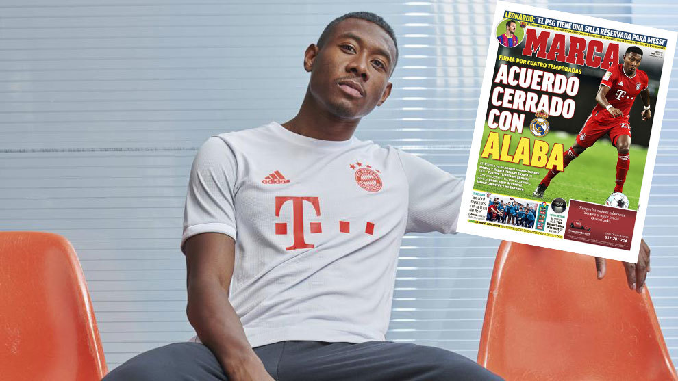 David Alaba Reportedly Signs Transfer Agreement With Real Madrid