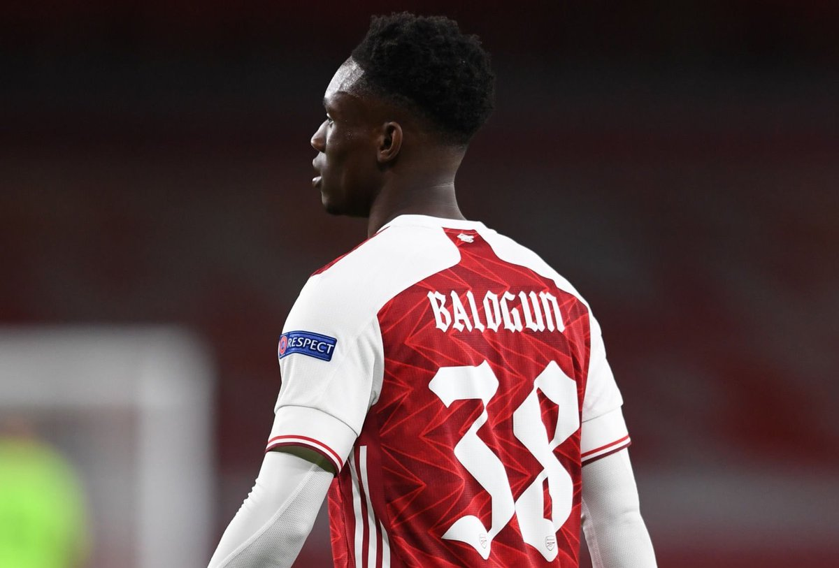 Folarin Balogun Seeks Better Result For Arsenal Against Derby County