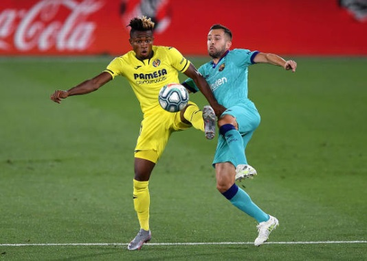 Samuel Chukwueze Targets Conquest Of Europa League With Villarreal