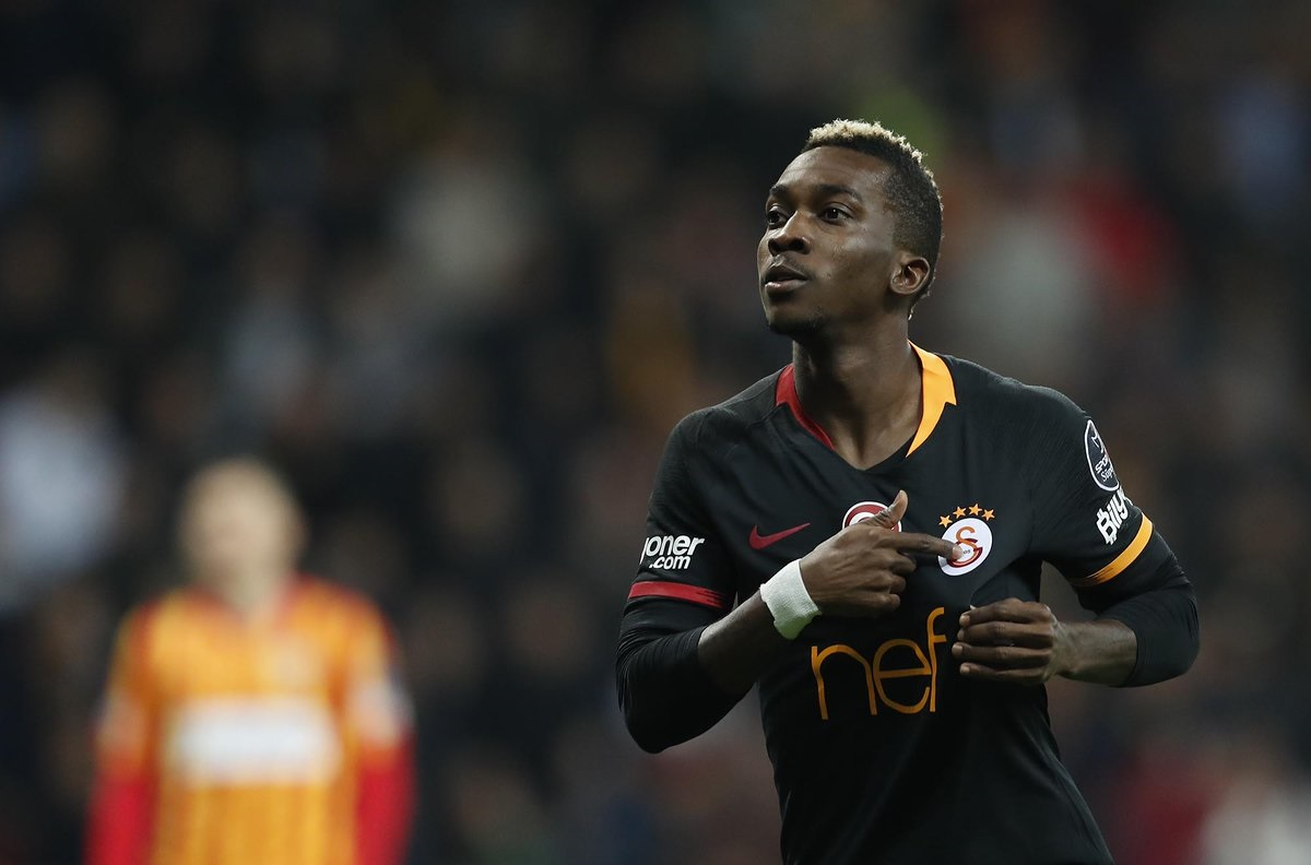 Onyekuru Receives Condolence From Galatasaray Over His Mother's Death