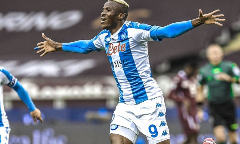 Osimhen Receives Accolades After Netting For Napoli Against Torino