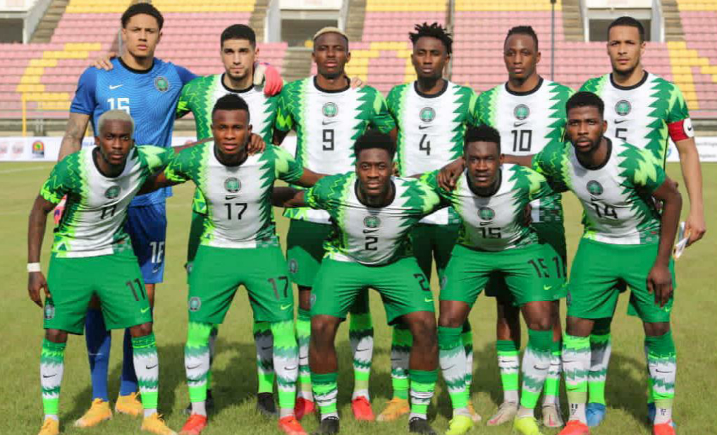 Super Eagles Thank Nigerians For Support In AFCON Qualifiers