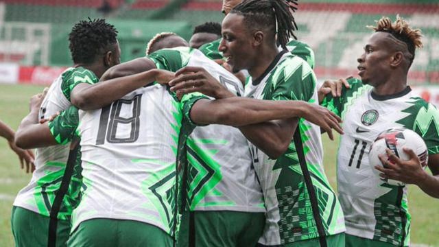 Super Eagles Move Four Spots Up To 32nd In Latest World Ranking