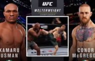 Usman Sets Stage For UFC Showdown In Taunts With Conor McGregor