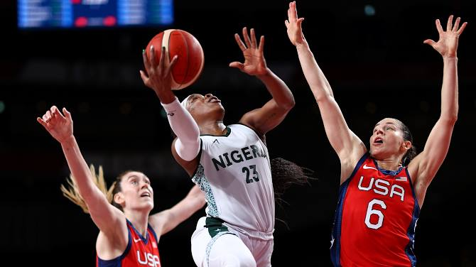 Ezinne Kalu: D'Tigress Fought As Hard As We Could Against USA
