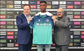 Destiny Udogie Steps Into Troost-Ekong's Shoes At Udinese Of Italy