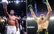 Anthony Joshua Could Lose To Oleksandr Usyk, Tyson Fury Projects