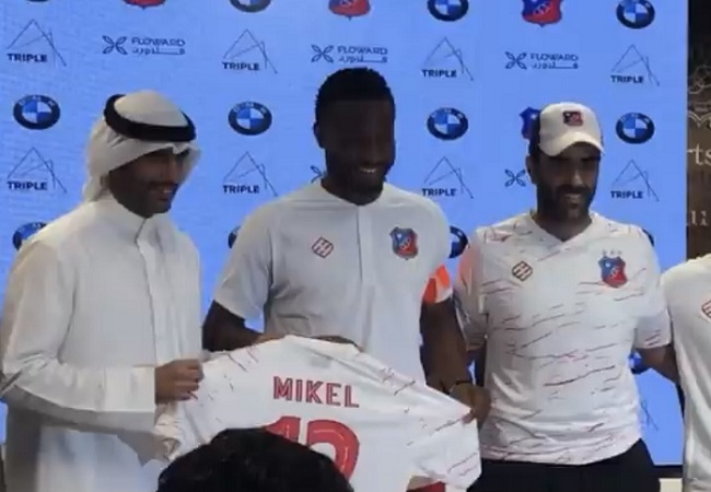 Mikel Obi Pledges To Give His Best As Captain Of Top Club In Kuwait