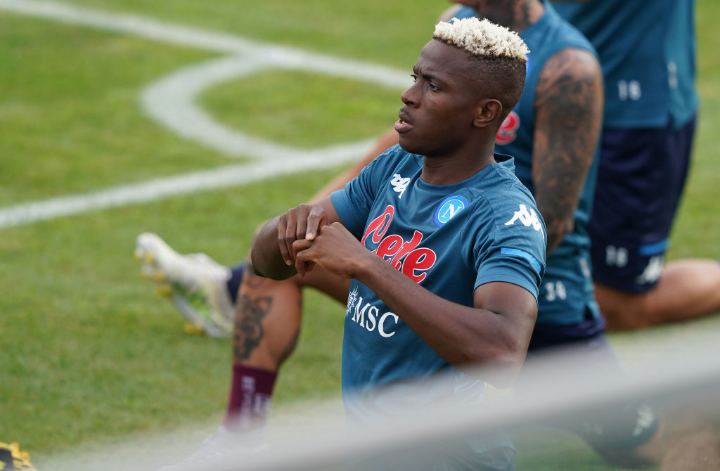 Osimhen Ruled Out Of Pre-season Clash, Victor Moses Doubtful For Spartak