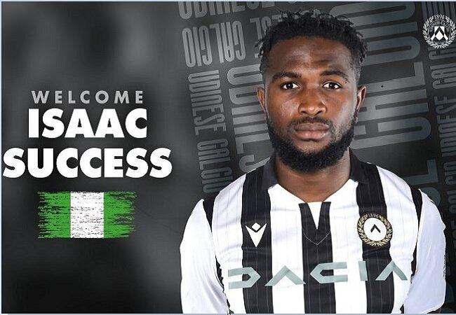 Isaac Success' Return Drives Stefano Chuka Okaka Out Of Udinese