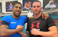 Anthony Joshua Welcomes New Sparring Partner From Australia