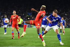Osimhen's Goals Cause Riots After 2-2 Draw With Leicester City