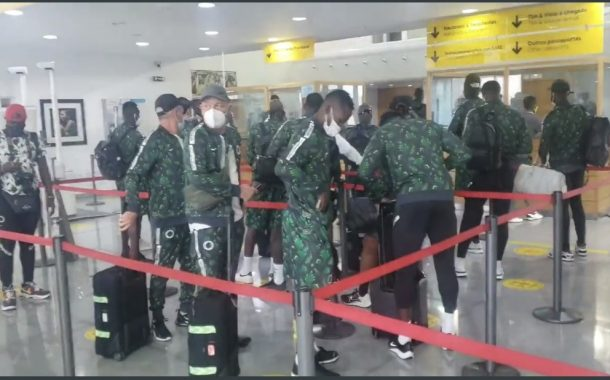 Qatar 2022 Race: Super Eagles Land In Mindelo; Musa Delighted With 100thCapProspect